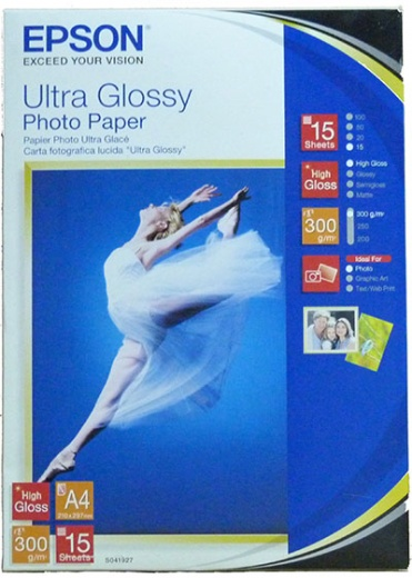 Бумага Epson Ultra Glossy Photo Paper (15 листов A4)