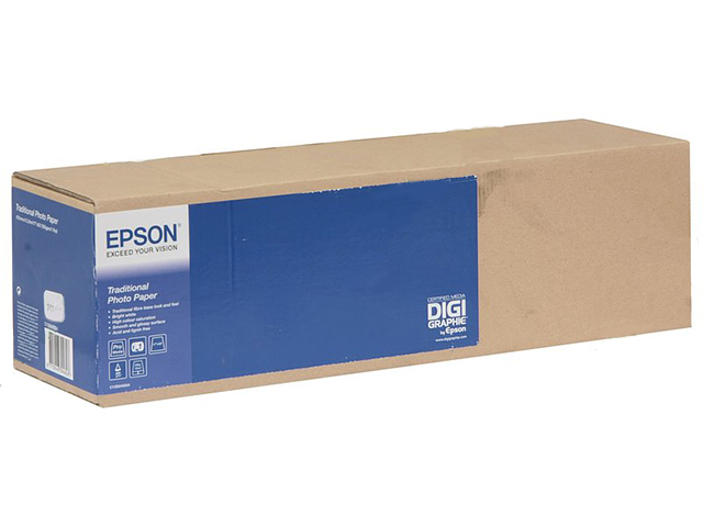 "Бумага Epson Traditional Photo Paper (рулон 44"" x 15 м)"